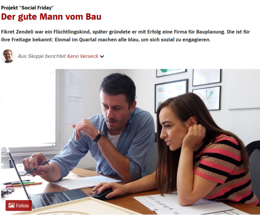 Social Friday Made It To Spiegel Online